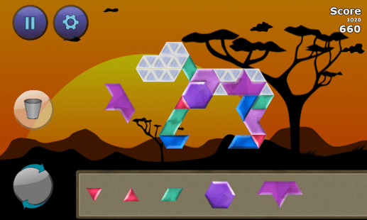Puzzle Inlay Lost Shapes