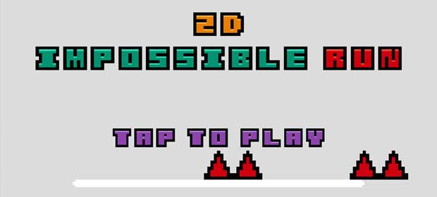 2D impossible run