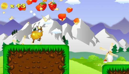 running sheep - free runner