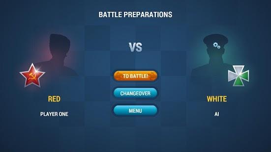 Chapaev Checkers:Confrontation