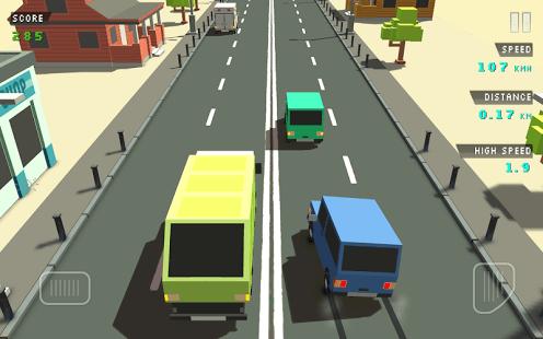 Blocky Traffic Racer