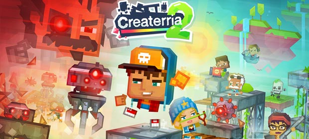 Createrria 2 craft your games!