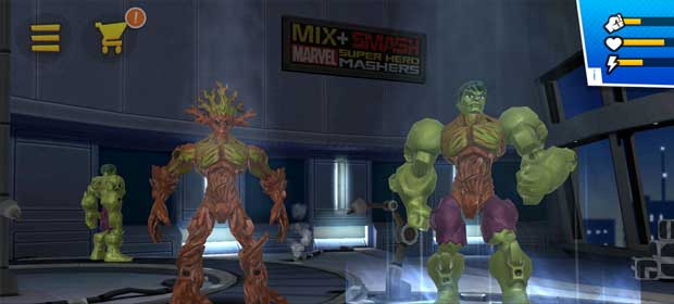 Mix+Smash: Marvel Mashers
