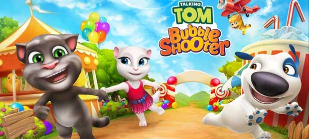 Talking Tom Bubble Shooter