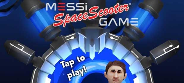Messi Space Scooter Game