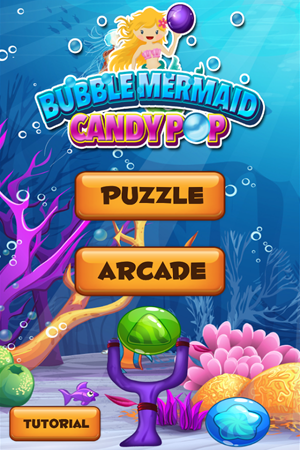 Mermaid Bubble Candy Pop