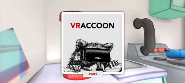 VRaccoon for Cardboard