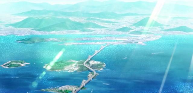 Udon no Kuni no Kiniro Kemari – ep 1 – Bem-vindo à cidade do Udon!