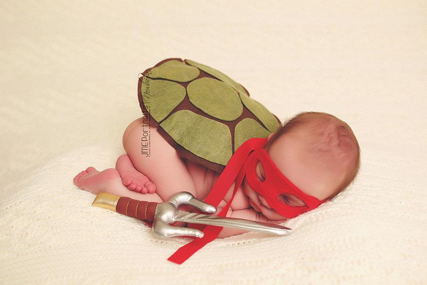 Baby Ninja Turtle