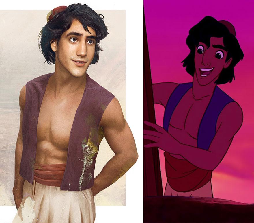 like-Disney-książąt-ilustracje rzeczywistym życiu-hot-jirka-vaatainen-4