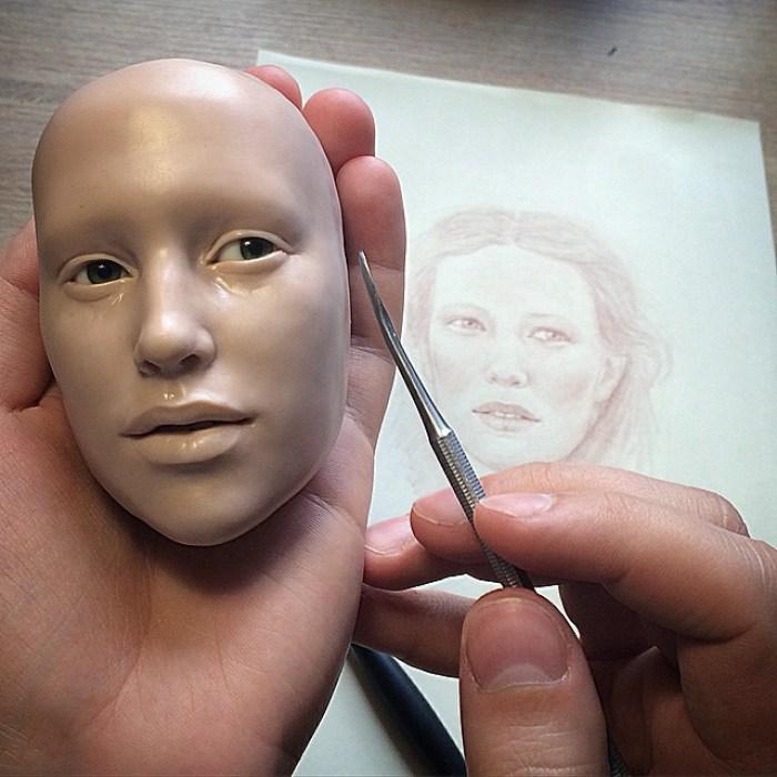 realistyczne twarze lalek-polimer-glinka-michael-zajkov-5