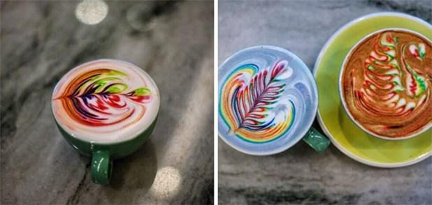 拿鐵咖啡藝術,食品染料梅森 - 索爾茲伯里-8
