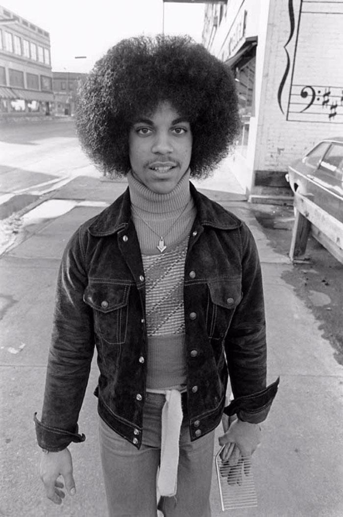 Le rare fotografie di Prince 19enne