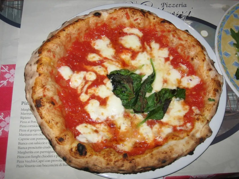 taste some of the best pizza in the world in naples italy what ive checked off: 100 trips you must take in your lifetime.
