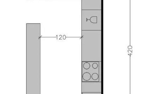 267504 8 plans de cuisine avec disposition des meubles en l