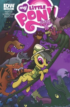 My Little Pony Friendship is Magic #16 Cover B by Bill Forster