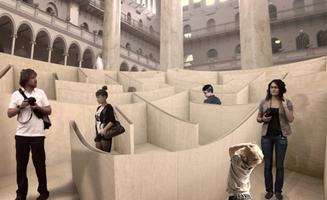 BIG Maze at National Building Museum Washington