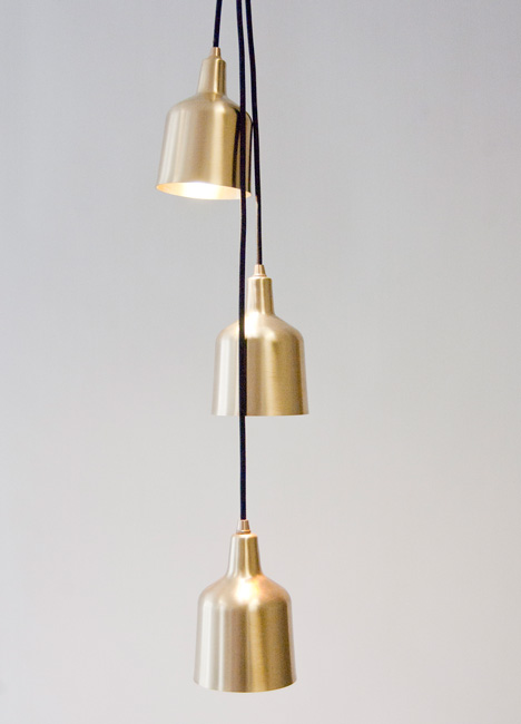 Pendant lights by Daniel Schofield