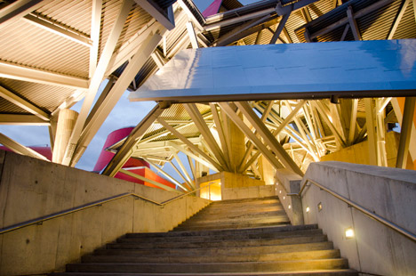 Biomuseo building by Frank Gehry