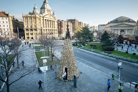 Charity Christmas tree by Hello Wood