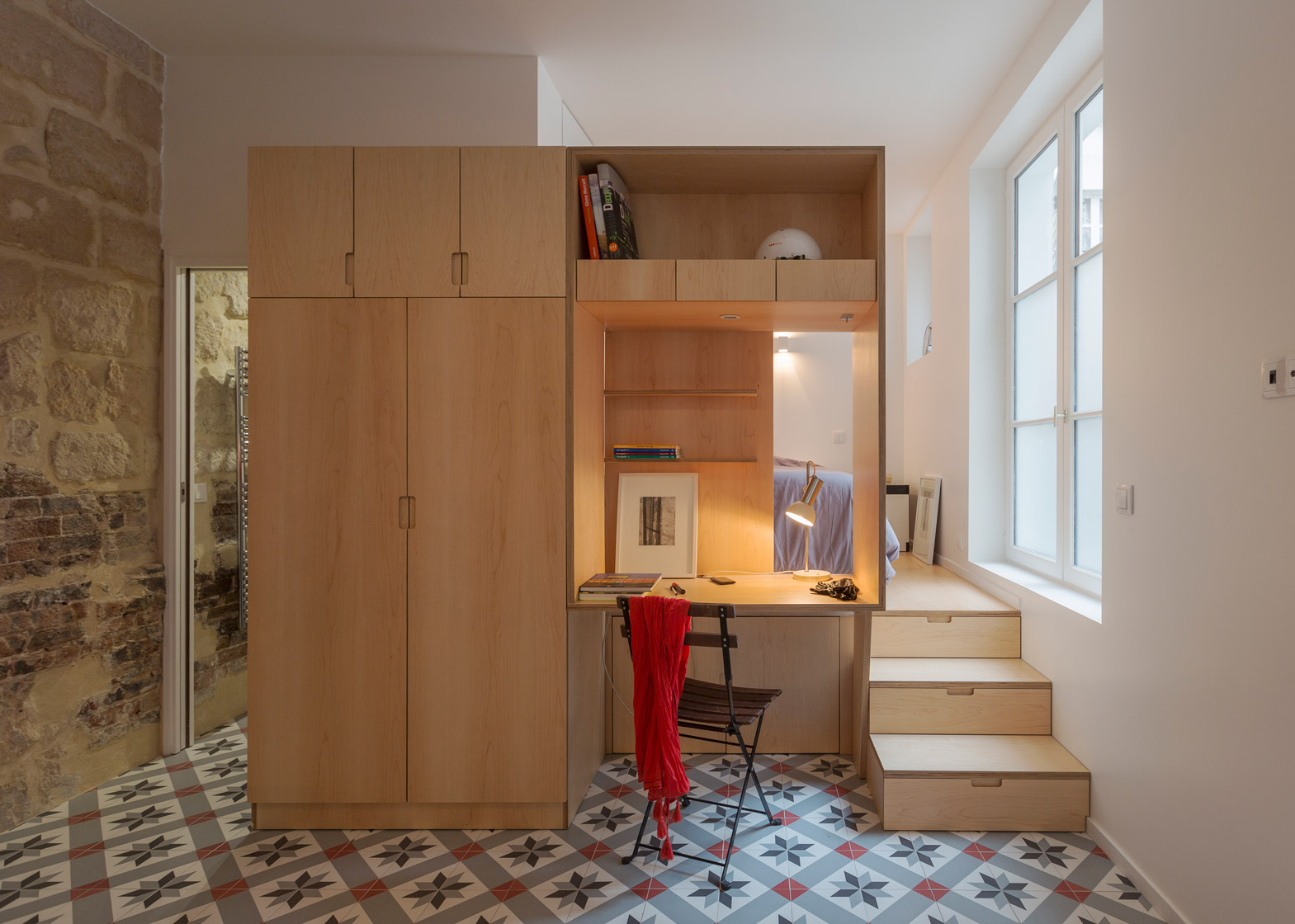 Fullsize Of One Room Studio Apartment