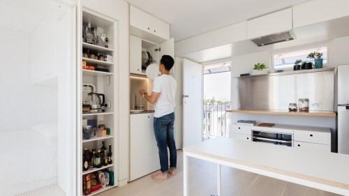 Medium Of Micro Apartment Plans