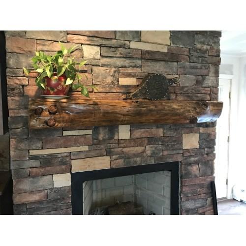 Medium Crop Of Reclaimed Wood Mantel