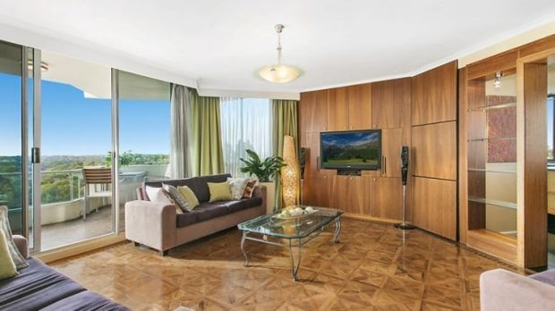 The living room at 32/163 Willoughby Road, Narremburn.