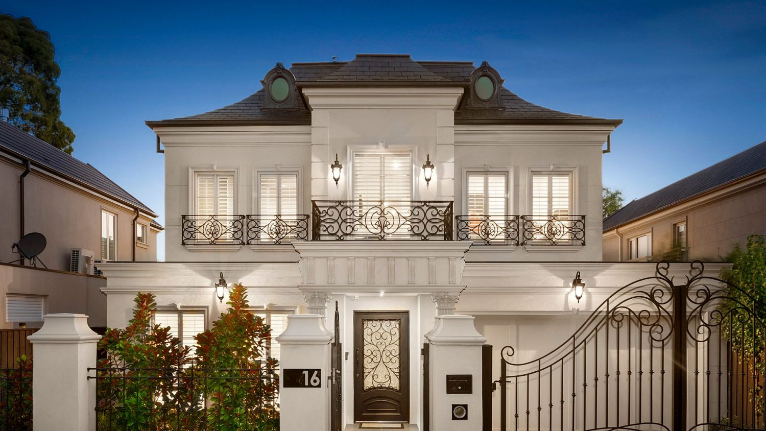 Regaling Kew Is Quite French Provincial House Colours French Provincial House This Mini Manor More Prestigious Private Mount Kewpresents A Meticulous French Facade To Edgar House Sale Melbourne houzz 01 French Provincial House