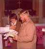 Amy's baptism in 1977