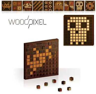 Wood Pixel - DIY Pixel Art!