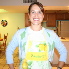 My new lemony apron