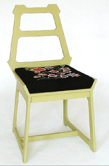 Moa Jantze Chairs - Folkloric Charm!