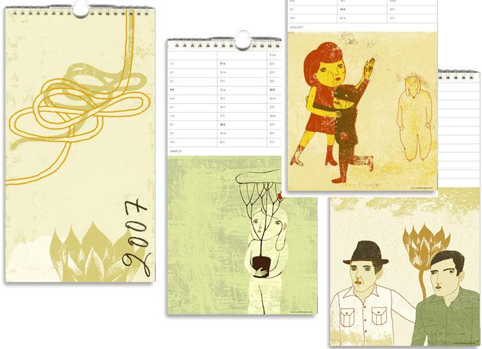 Camilla Engman 2007 Calendars - Now Available!