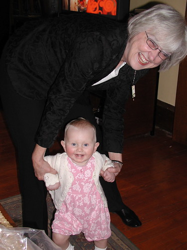 Walking with Oma