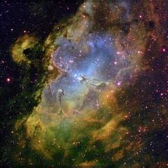 Hubble Eagle Nebula
