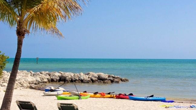 Beach in Key West