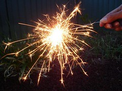 Sparklers For Chinese New Year