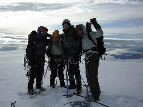 Summit Cayambe, Ecuador