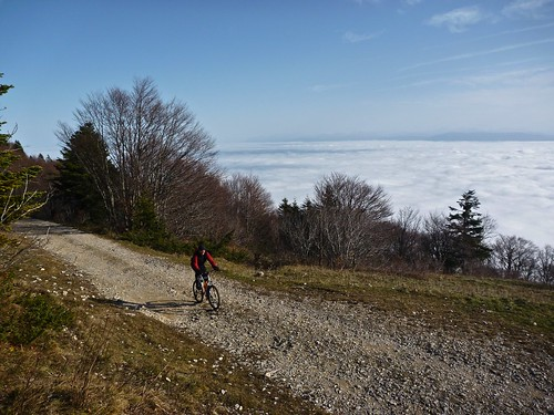 Route to Col de Crozet