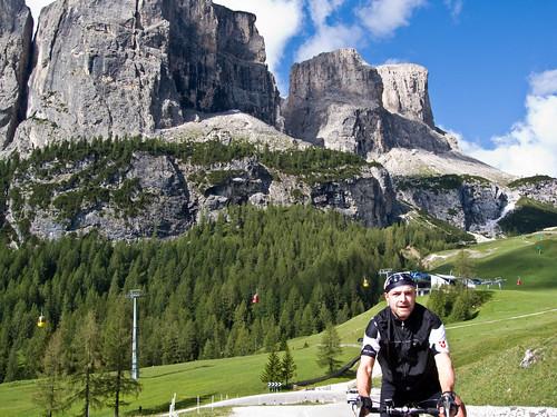 Climbing Passo Gardena