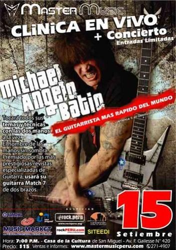 Michael Angelo Batio poster