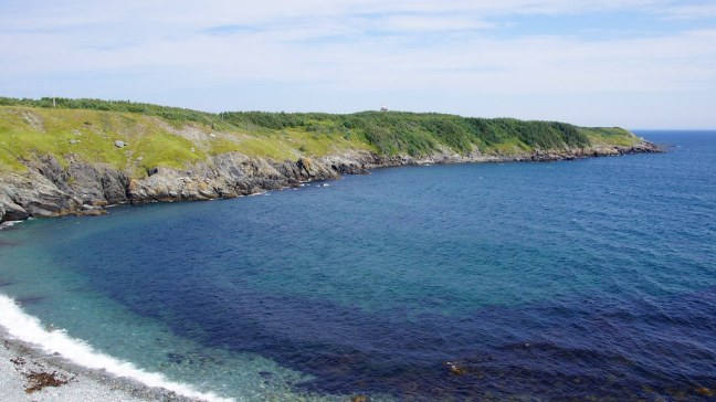 Typical greens and blues of Newfoundland