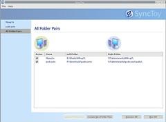 synctoy folder pairs