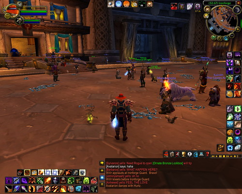 plague after math in WoW
