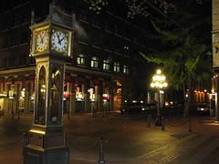 Gastown nighttime