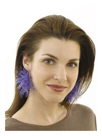 Fun Fur Earrings