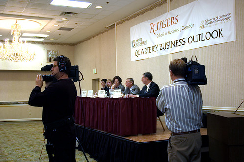 Rutgers Holds Quarterly Business Outlook in Cherry Hill