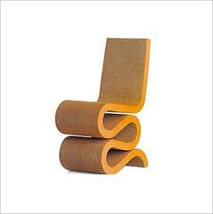 Wannabe Alert: Frank Gehry Cardboard Chair