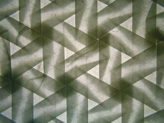 Pinwheel tessellation, version 2, backlit